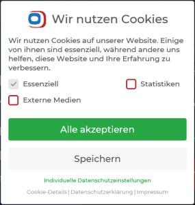 Hinweise zur Umsetzung von Cookies